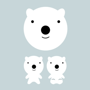 k-tonさんの会社のマスコットキャラクター 白くまへの提案
