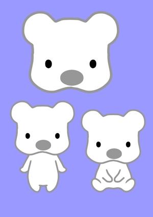 hakkaさんの会社のマスコットキャラクター 白くまへの提案