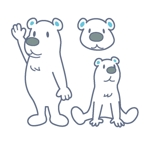 cementmilkさんの会社のマスコットキャラクター 白くまへの提案