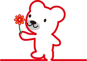 sayakoさんの会社のマスコットキャラクター 白くまへの提案