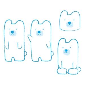 morio_kさんの会社のマスコットキャラクター 白くまへの提案