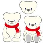 yoshi-vickiさんの会社のマスコットキャラクター 白くまへの提案