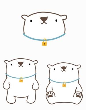fujinugo07さんの会社のマスコットキャラクター 白くまへの提案