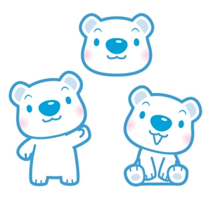 suzumuraさんの会社のマスコットキャラクター 白くまへの提案
