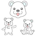 nasumisoさんの会社のマスコットキャラクター 白くまへの提案