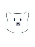 ZOSSさんの会社のマスコットキャラクター 白くまへの提案