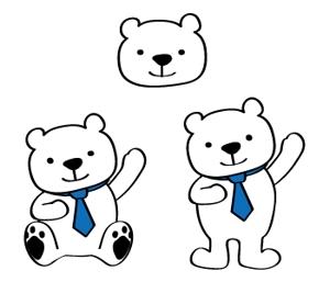 kewiさんの会社のマスコットキャラクター 白くまへの提案