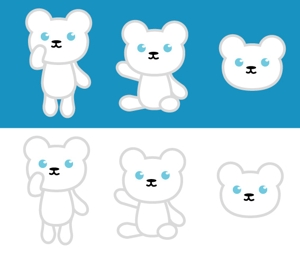 shinonomeさんの会社のマスコットキャラクター 白くまへの提案