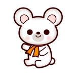 teddy-knさんの会社のマスコットキャラクター 白くまへの提案