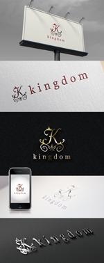 katsu31さんのホストクラブ 「kingdom」のロゴへの提案