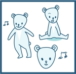 dodesign7さんの会社のマスコットキャラクター 白くまへの提案