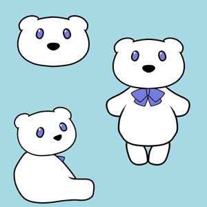 hayashi88さんの会社のマスコットキャラクター 白くまへの提案