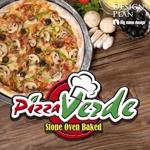 big-moonさんの石窯ピザ屋 「Pizza Verde」のロゴへの提案