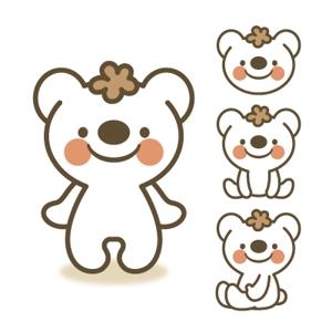 D-Cafeさんの会社のマスコットキャラクター 白くまへの提案