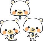 jealla105105さんの会社のマスコットキャラクター 白くまへの提案