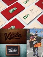 maharo77さんの石窯ピザ屋 「Pizza Verde」のロゴへの提案