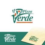 dscltyさんの石窯ピザ屋 「Pizza Verde」のロゴへの提案