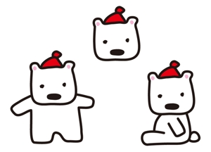 ikohs-designさんの会社のマスコットキャラクター 白くまへの提案