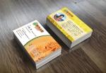 mizuno5218さんの米、メロン販売農家「めろん屋こいけ」の名刺デザインへの提案