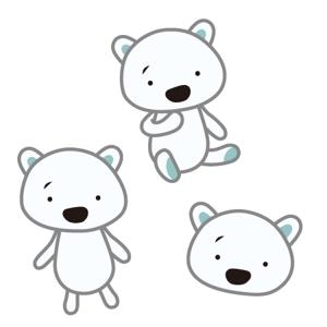 sahoさんの会社のマスコットキャラクター 白くまへの提案