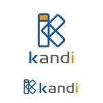 atomgraさんの「株式会社ケーアンドアイ ケー・アンド・アイ ケーアンドアイ kandi K&I」のロゴ作成への提案