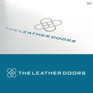 takudyさんのレザーセレクトショップ「THE LEATHER DOORS」のロゴ制作依頼への提案