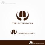 FUKUさんのレザーセレクトショップ「THE LEATHER DOORS」のロゴ制作依頼への提案