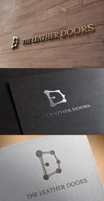 ukokkeiさんのレザーセレクトショップ「THE LEATHER DOORS」のロゴ制作依頼への提案
