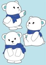 pm16moonさんの会社のマスコットキャラクター 白くまへの提案