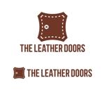 tsujimoさんのレザーセレクトショップ「THE LEATHER DOORS」のロゴ制作依頼への提案