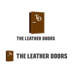 perles_de_verreさんのレザーセレクトショップ「THE LEATHER DOORS」のロゴ制作依頼への提案
