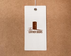 hearts_11さんのレザーセレクトショップ「THE LEATHER DOORS」のロゴ制作依頼への提案