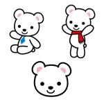 q-iszさんの会社のマスコットキャラクター 白くまへの提案