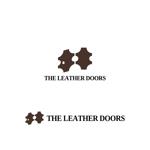 Yolozuさんのレザーセレクトショップ「THE LEATHER DOORS」のロゴ制作依頼への提案