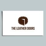 katachidesignさんのレザーセレクトショップ「THE LEATHER DOORS」のロゴ制作依頼への提案