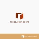 J-wonderさんのレザーセレクトショップ「THE LEATHER DOORS」のロゴ制作依頼への提案
