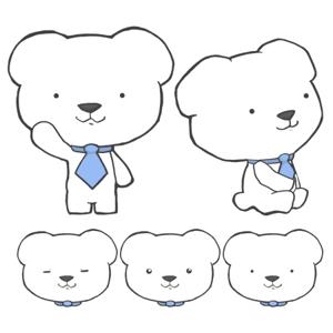 kinokopさんの会社のマスコットキャラクター 白くまへの提案