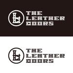 ronsunnさんのレザーセレクトショップ「THE LEATHER DOORS」のロゴ制作依頼への提案