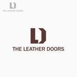 flyingmanさんのレザーセレクトショップ「THE LEATHER DOORS」のロゴ制作依頼への提案