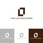 klennyさんのレザーセレクトショップ「THE LEATHER DOORS」のロゴ制作依頼への提案