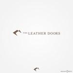 nekosmashさんのレザーセレクトショップ「THE LEATHER DOORS」のロゴ制作依頼への提案