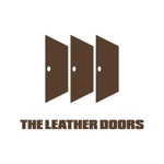 j-designさんのレザーセレクトショップ「THE LEATHER DOORS」のロゴ制作依頼への提案