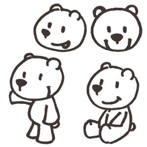 monkeytreeさんの会社のマスコットキャラクター 白くまへの提案