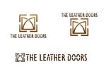 all-eさんのレザーセレクトショップ「THE LEATHER DOORS」のロゴ制作依頼への提案