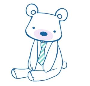 flowerclockさんの会社のマスコットキャラクター 白くまへの提案
