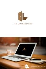 NJONESさんのレザーセレクトショップ「THE LEATHER DOORS」のロゴ制作依頼への提案