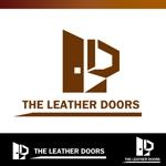 heart_of_mindさんのレザーセレクトショップ「THE LEATHER DOORS」のロゴ制作依頼への提案