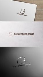 zeross_designさんのレザーセレクトショップ「THE LEATHER DOORS」のロゴ制作依頼への提案