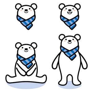 mihoko154さんの会社のマスコットキャラクター 白くまへの提案