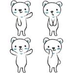 honoyuruさんの会社のマスコットキャラクター 白くまへの提案